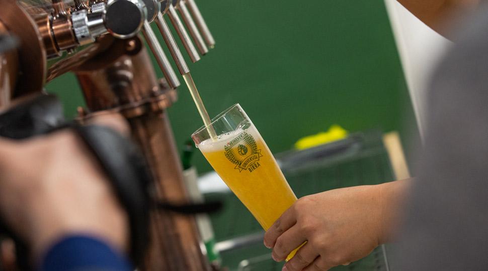 La spillatura della birra